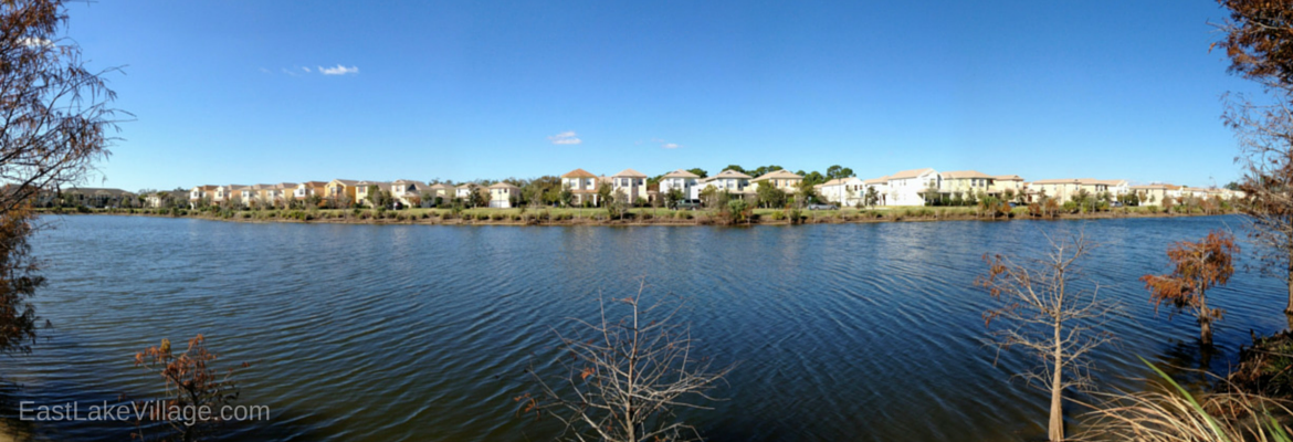 Lake at East Lake Village